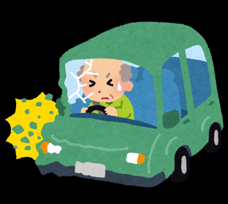 高齢者の事故
