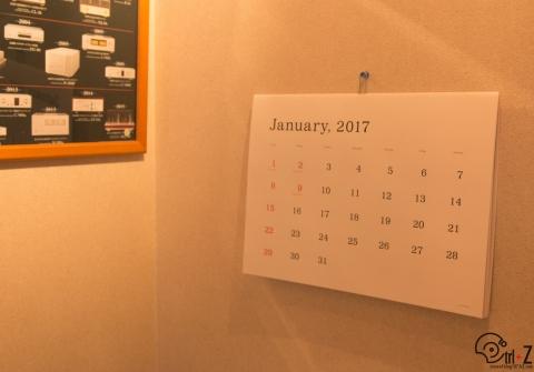 ANDO GALLERY 葛西薫 カレンダー