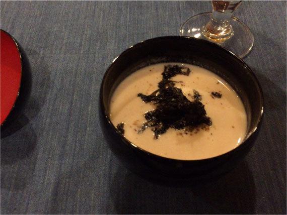 酒粕のスープ