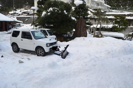雪対策車両