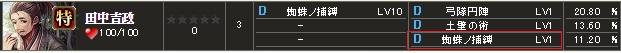 特 田中吉政(2)S