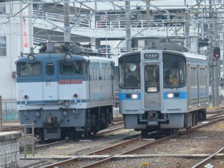 EF65形 & 7000系電車
