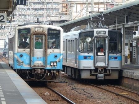 7000系電車 & キハ54形気動車