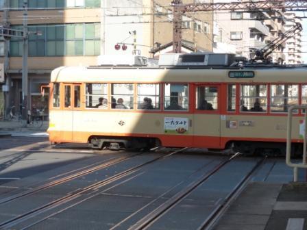 伊予鉄道 市内電車 (路面電車) 1