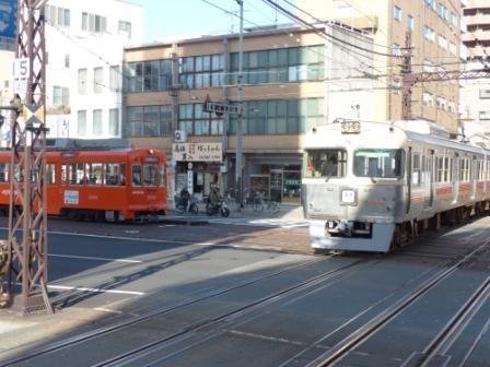 伊予鉄道 郊外電車 & 市内電車 (路面電車) 2