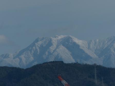 松山総合公園からの眺め 石鎚山 3