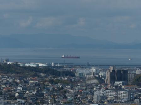 松山城 からの眺め 2