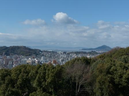 松山城 からの眺め 3