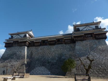 松山城 北櫓 と 南櫓