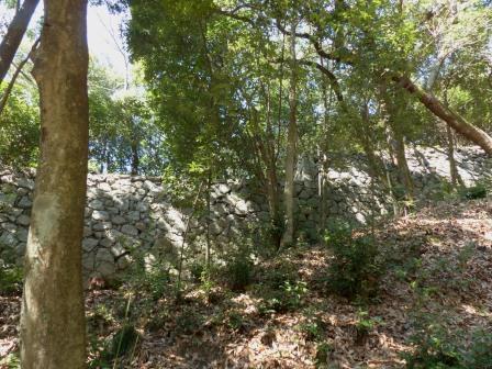 松山城 登り石垣