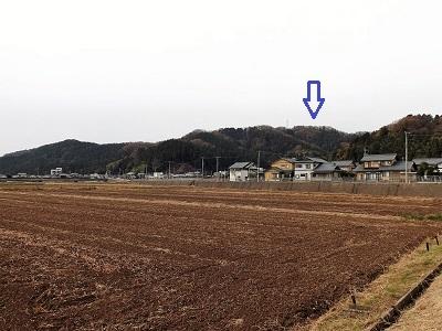 栃川茶臼山城跡の踏査2016年11月30日 (7)