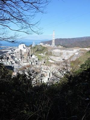 金ヶ崎、手筒山城の踏査(ブログ用)2016年12月3日 (11)