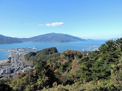 金ヶ崎、手筒山城の踏査(ブログ用)2016年12月3日 (13)
