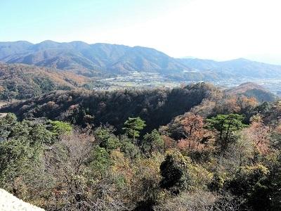 金ヶ崎、手筒山城の踏査(ブログ用)2016年12月3日 (14)