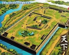 墨俣城推定復元図