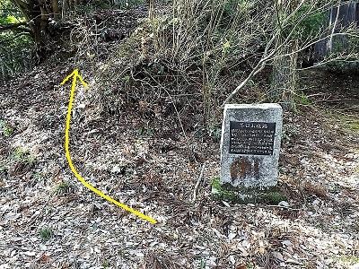 南越前町上別所茶臼山城跡踏査2017年1月6日ブログ (7)