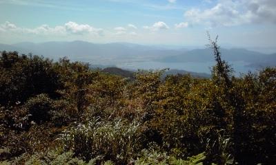 鉢伏山城遠景