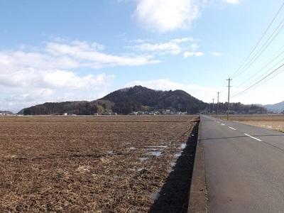 福井市片山真光寺城の踏査 (1)
