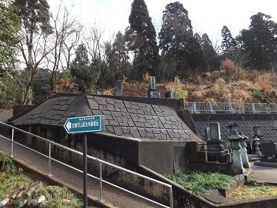 福井市片山真光寺城の踏査 (2)