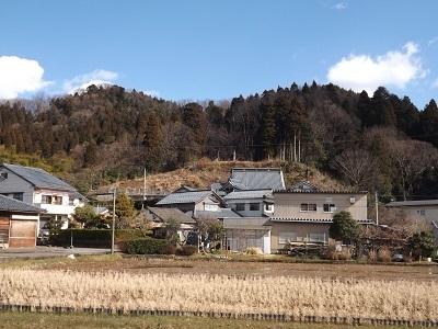 福井市片山真光寺城の踏査 (8)