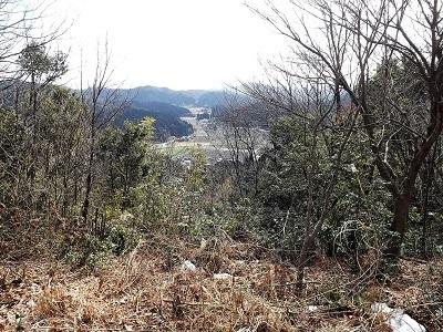 越前市荒神ヶ峰城砦の踏査 (1)
