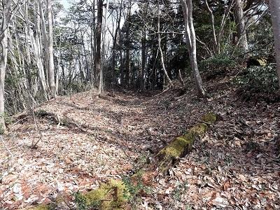 越前市荒神ヶ峰城砦の踏査 (2)