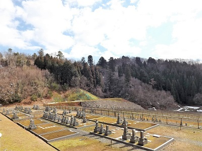 越前市荒神ヶ峰城砦の踏査(10)