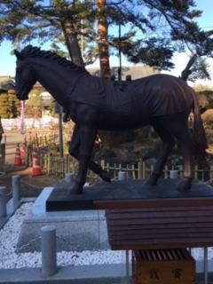 竹駒神社馬
