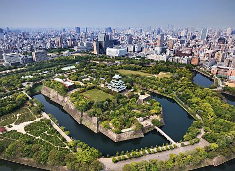 大阪城全体