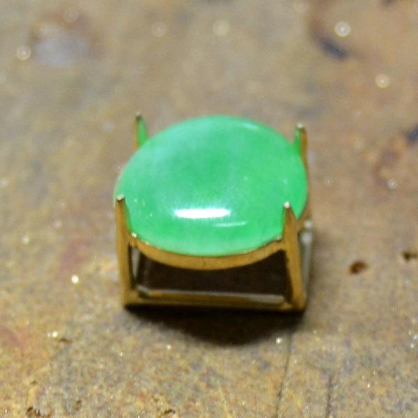 翡翠ひすいルース指輪リング加工手作りハンドメイドハンドクラフトジュエリーオーダーメイドjpg