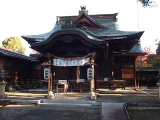 千代神社拝殿