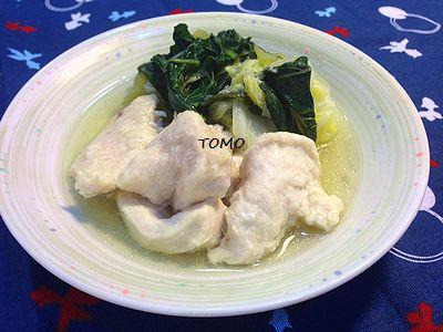 白菜とター菜の治部煮