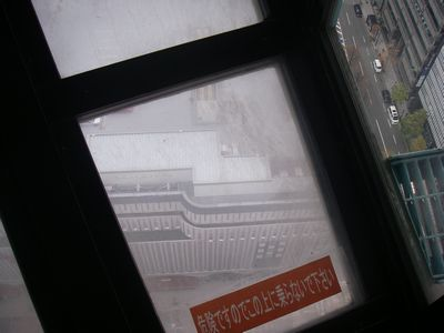 京都タワーから見た下界