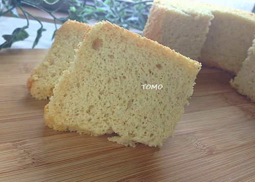 米ぬかと米粉のノンオイルシフォンケーキ