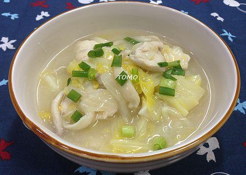 白菜と鶏胸肉のトロトロ煮