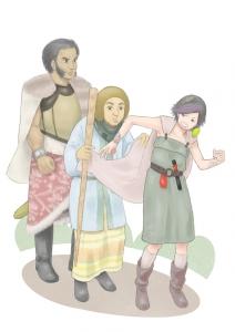 勇者ヨシヒコ ムラサキ&メレブ&ダンジョー