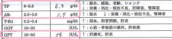 ジジ血液検査20160814