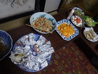 大皿で秋を味わう