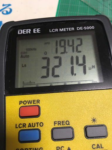 LEDマッチ/測定