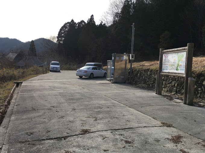千丈寺山/駐車場