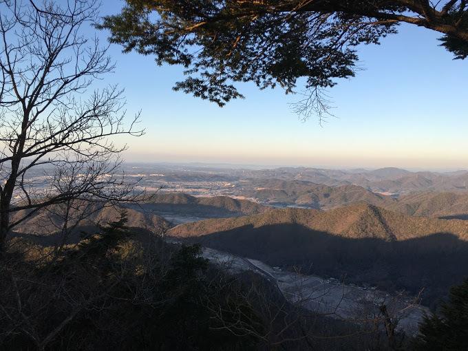 千丈寺山/景色西側