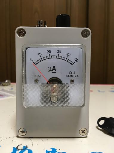 電界強度計/完成