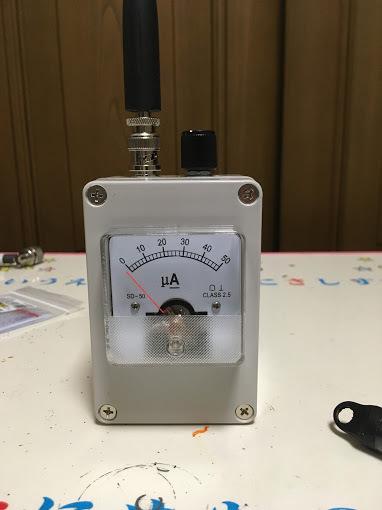 電界強度計/アンテナ接続