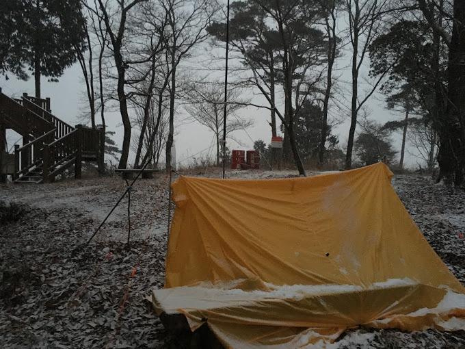 歌垣山2/雪