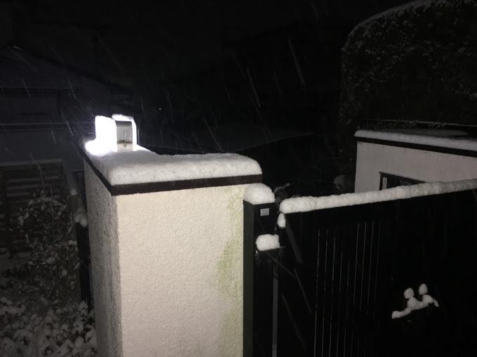 雪/夜明け前