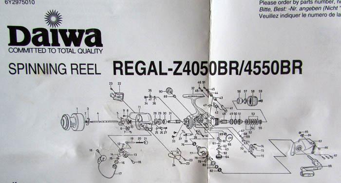 REGAL-Z-4050BR 4550BR展開図