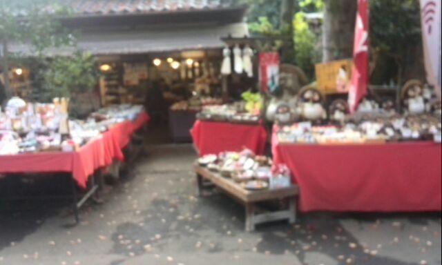 深大寺のお土産屋