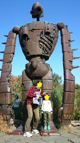 ラピュタのロボット大きいな