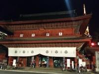 年末の増上寺