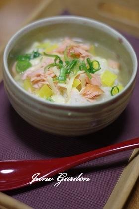 鮭チーズ茶漬け0125